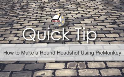How to Make a Round Headshot Using PicMonkey