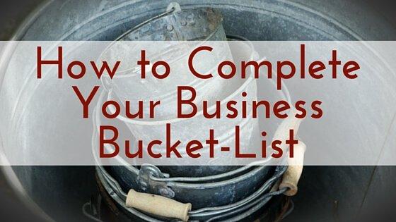 Business Bucket-List