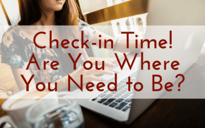 Check-in Time! Are You Where You Need to Be?
