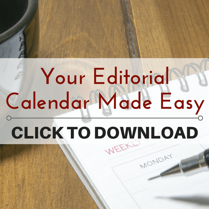 DOWNLOAD - Your Editorial Calendar Made Easy